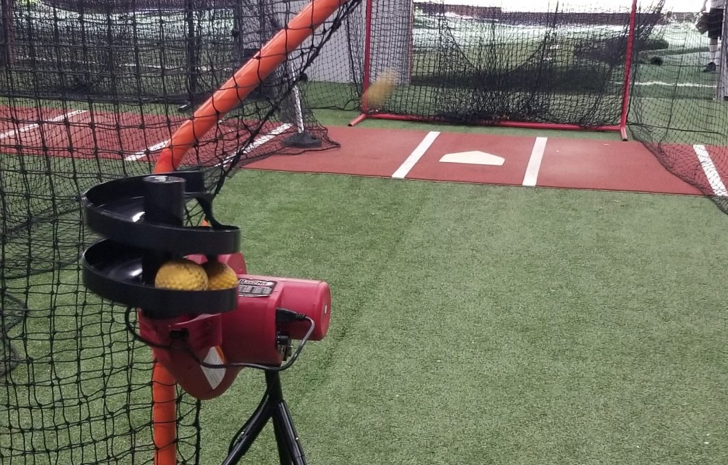 pitching machine landscape